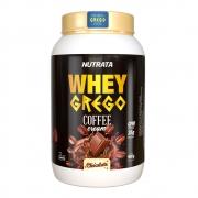 Whey Grego Bar Coffee Cream Chocolate 480g Cx 12un - Nutrata