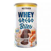 Whey Grego Bites Cream - Lata com 18 unidades 20g/cada