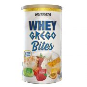Whey Grego Bites Fruits - Lata com 18 unidades 20g/cada