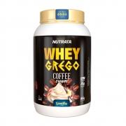 Whey Grego Coffe Cream Vanilla 900g - Nutrata