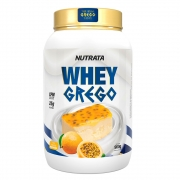 Whey Grego Mousse Maracuja 900g - Nutrata