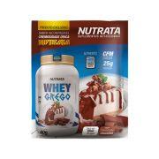 Whey Grego Sabor Cheesecake Choco Sachê 40G - Nutrata