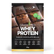 Whey Protein Chocolate Belga 30g - Pura Vida