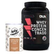 Whey Protein Concentrado 900g Cappuccino + Cappuccino 120g