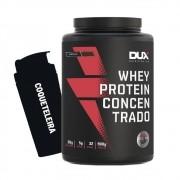 Whey Protein Concentrado 900g Chocolate + Coqueteleira