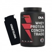 Whey Protein Concentrado 900g Cookies + Coqueteleira