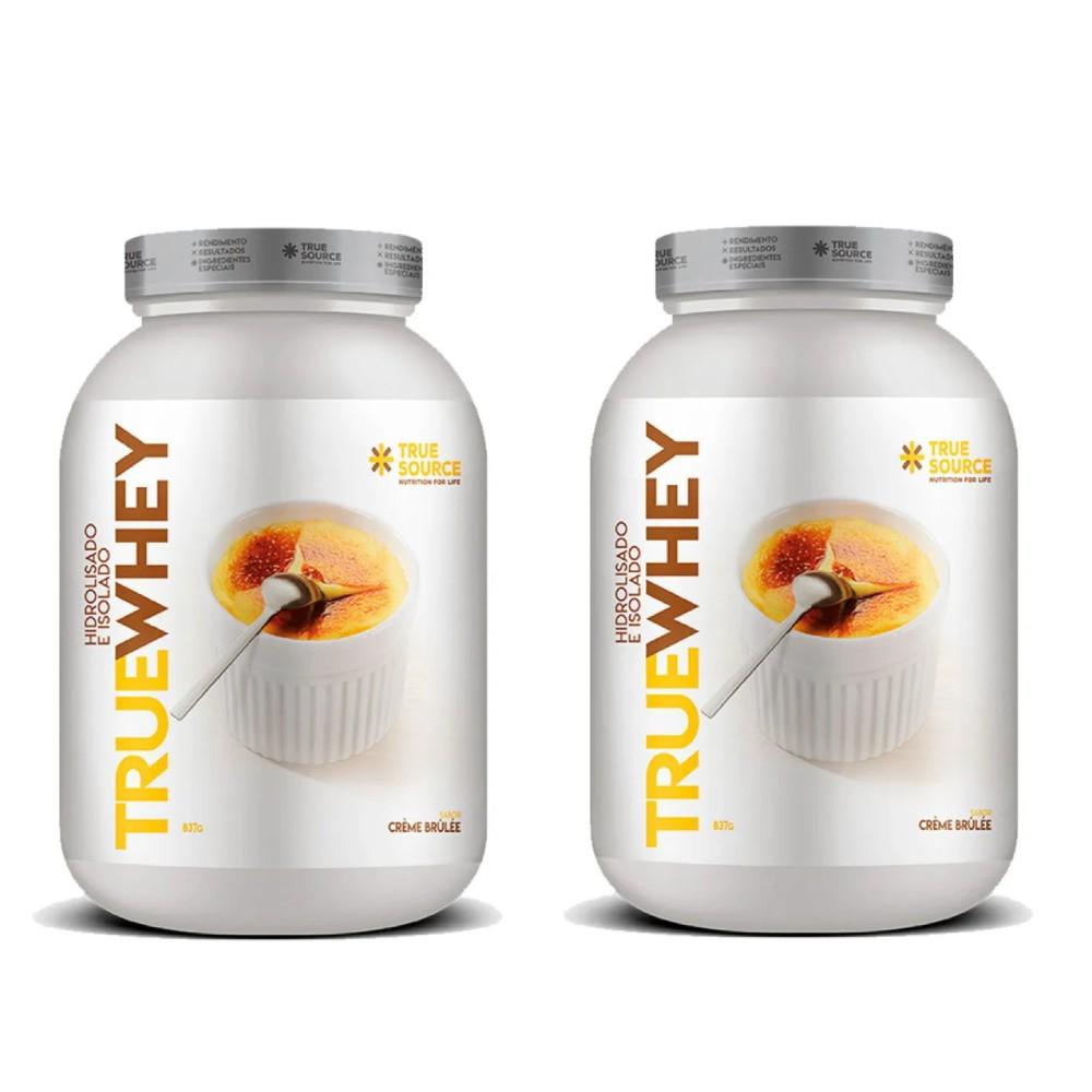 True Whey Vanilla Creme Brulle 837g - 2un  - KFit Nutrition