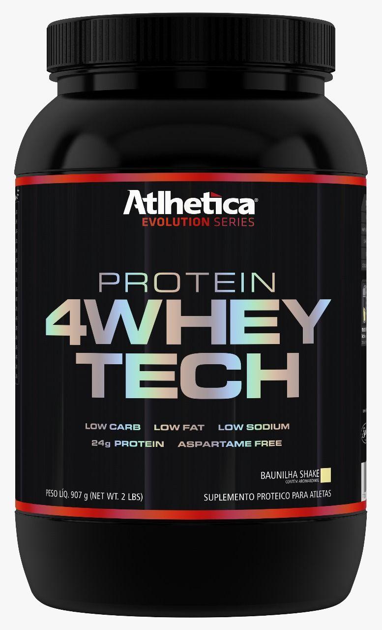 4 Whey Tech 900G  - KFit Nutrition