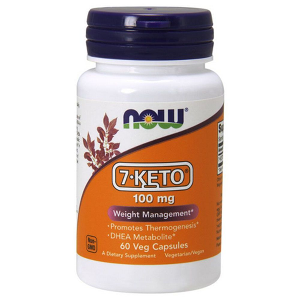 7 Keto 100mg 60caps Now Sports  - KFit Nutrition
