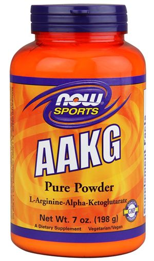 AAKG Pure Powder 198g - Now Sports  - KFit Nutrition