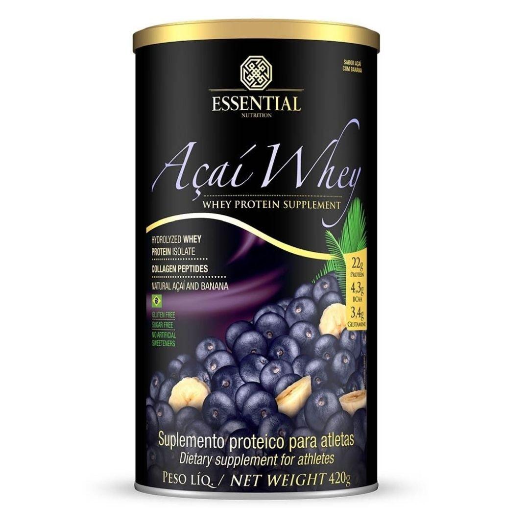 Açaí Whey 420g  Essential Nutrition  - KFit Nutrition