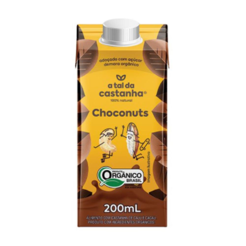 Achocolatado Choconuts Orgânico 200 ML - A tal da Castanha  - KFit Nutrition