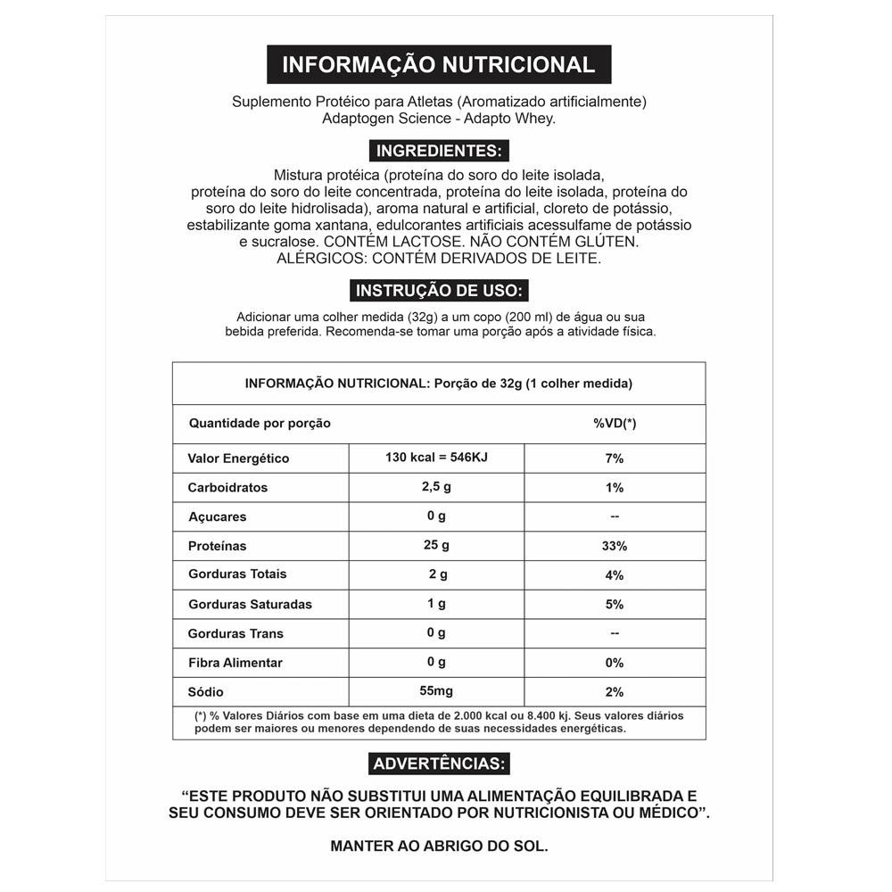 Adapto Whey Coconut Frappe 5 Lbs - Adaptogen  - KFit Nutrition