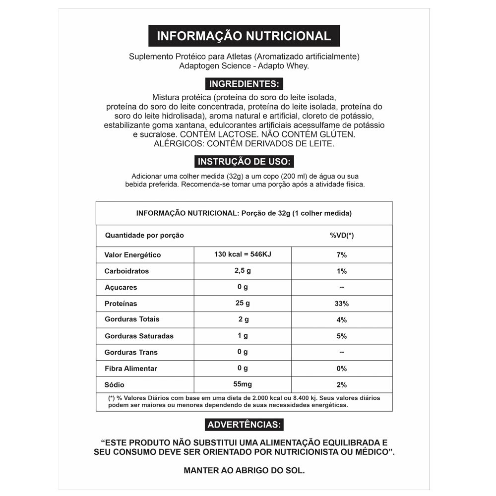 Adapto Whey Strawberry Creme 5 LBS - Adaptogen  - KFit Nutrition