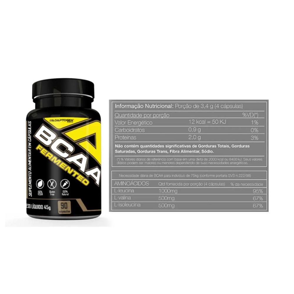 Adapto Whey Vanilla 5 LBS + Creatina 100G + Bcaa 90 Caps  - KFit Nutrition