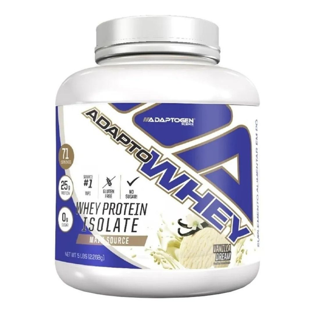 Adapto Whey Vanilla Dream 5 Lbs  Adaptogen  - KFit Nutrition