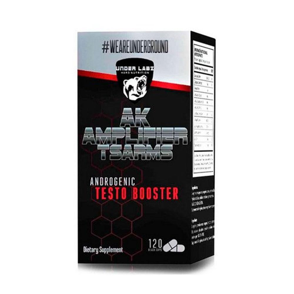 Ak Amplifier T-Sarms Testo 120 Tablets - Pro-Hormonal Under Labz  - KFit Nutrition
