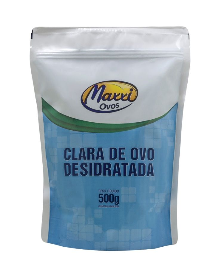 Clara de Ovo Desidratada MAXXI OVOS  - KFit Nutrition