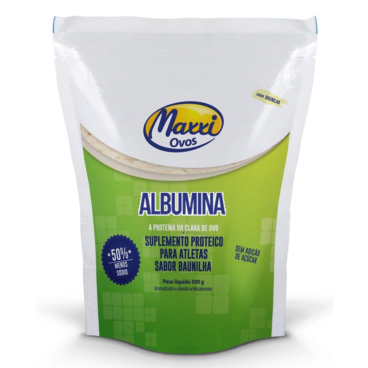 Albumina MAXXI OVOS  - KFit Nutrition