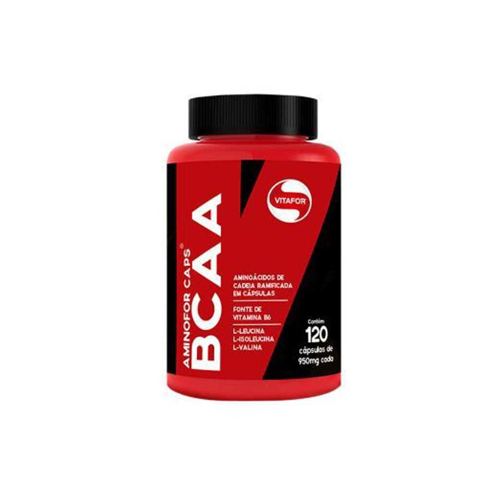 BCAA Aminofor 120 CAPS Vitafor  - KFit Nutrition