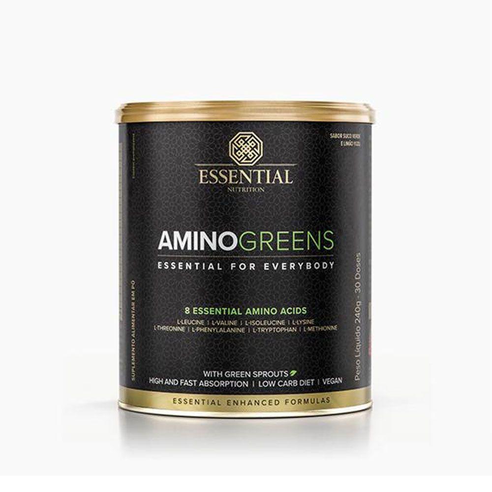 Aminogreens 240g  Essential Nutrition  - KFit Nutrition