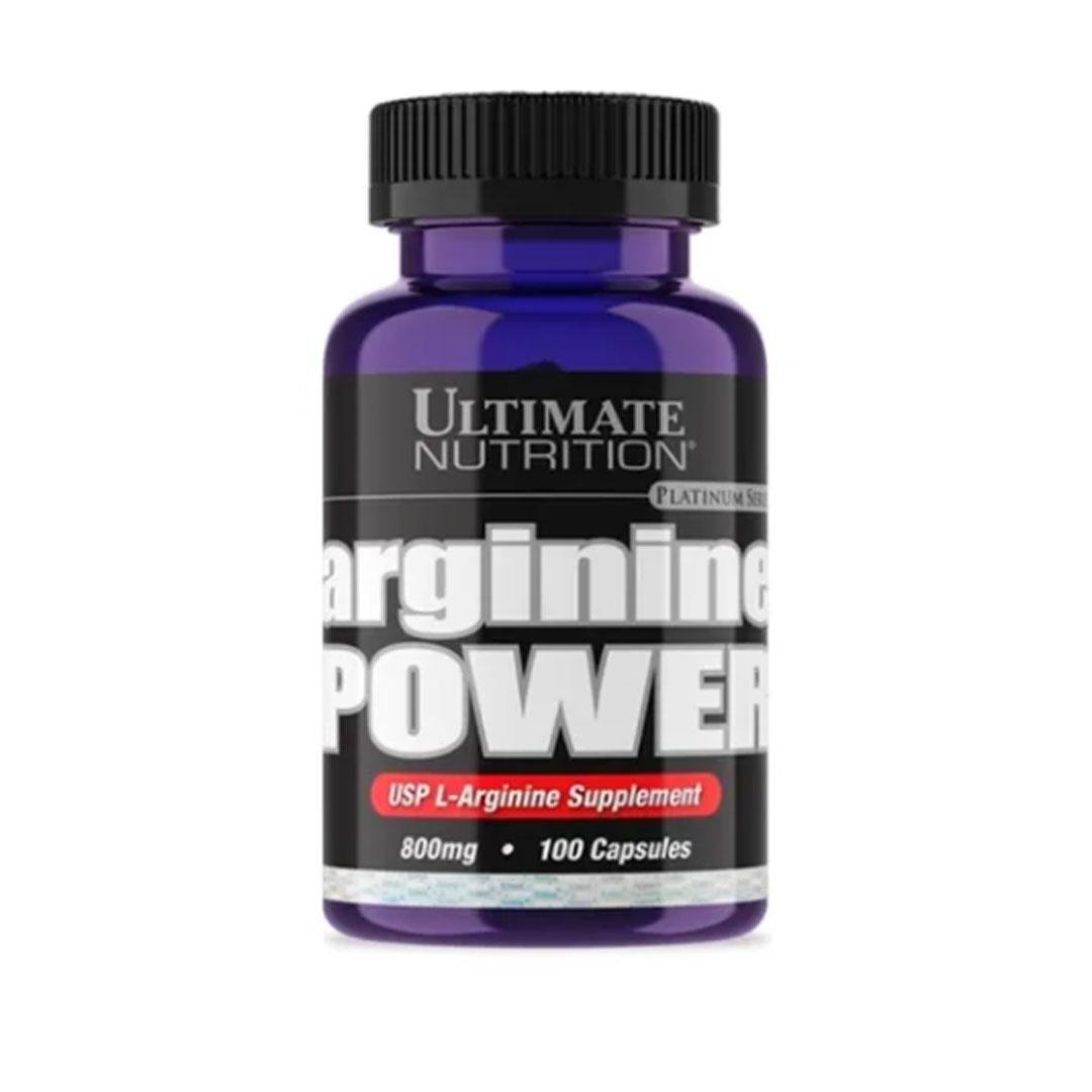 Arginine Power 800mg 100 Caps - Ultimate Nutrition  - KFit Nutrition