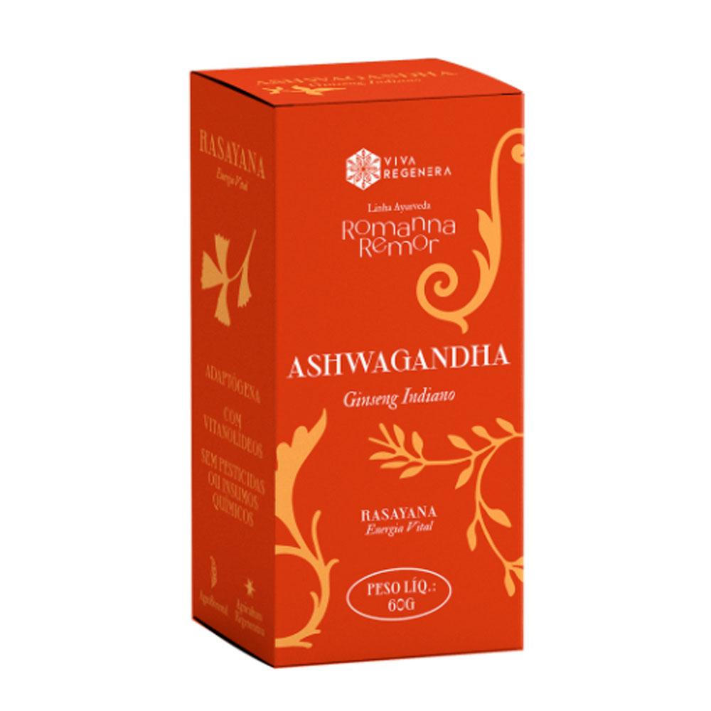 Ashwagandha em Pó 60g - Viva Regenera  - KFit Nutrition