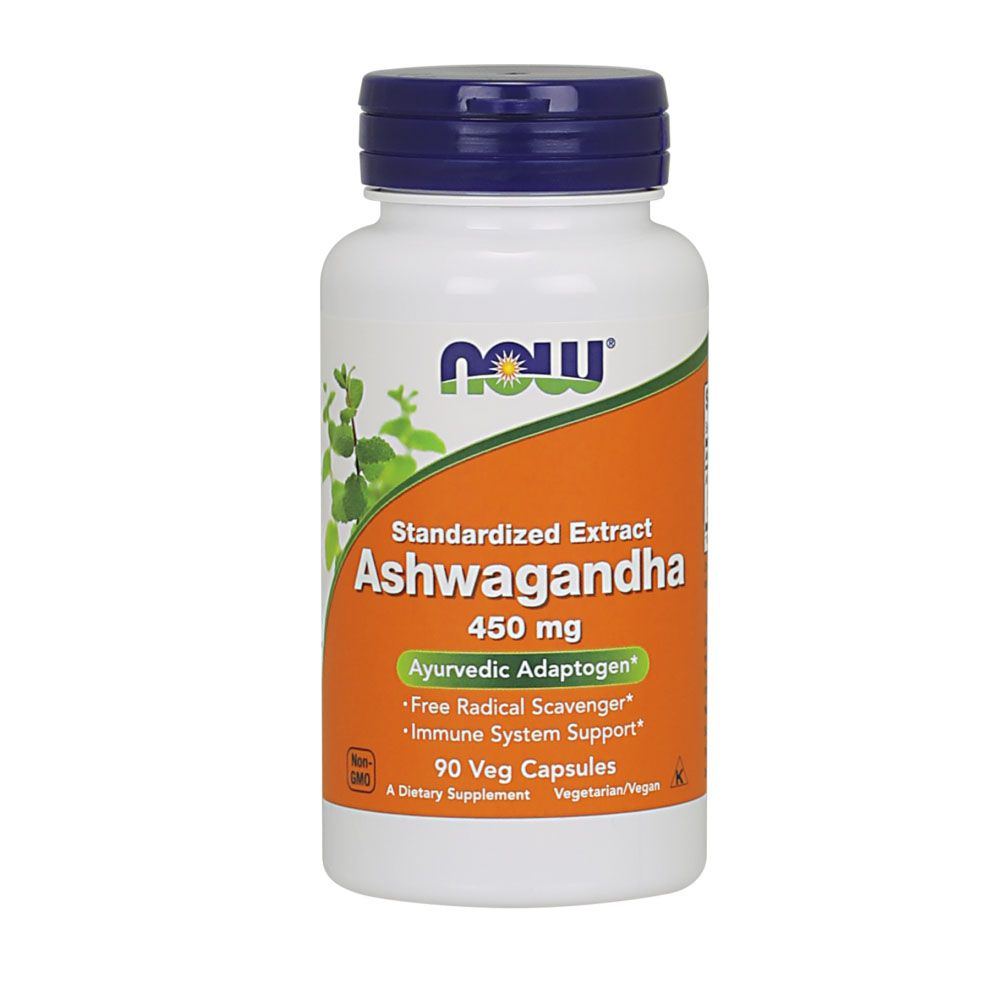 Ashwagandha  450mg 90 vCaps  - KFit Nutrition