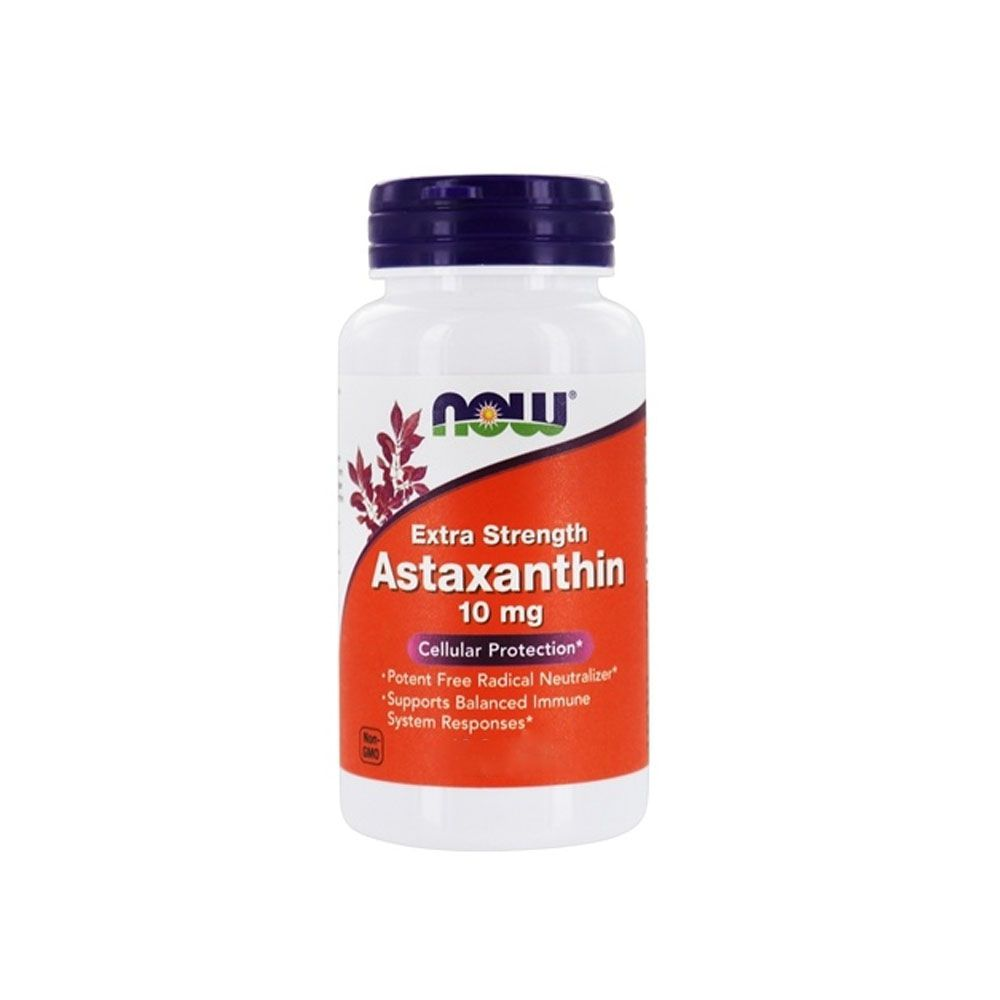 Astaxanthin 10 mg Now Sport 60 Cáps  - KFit Nutrition