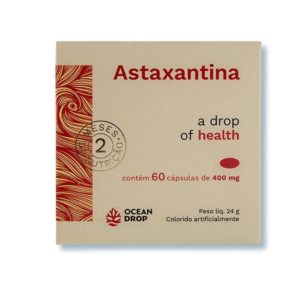 Astaxantina 60 Caps 400mg Ocean Drop  - KFit Nutrition