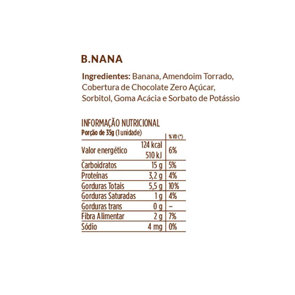 B.nana 35g Banana Com Amendoim e Chocolate  - KFit Nutrition