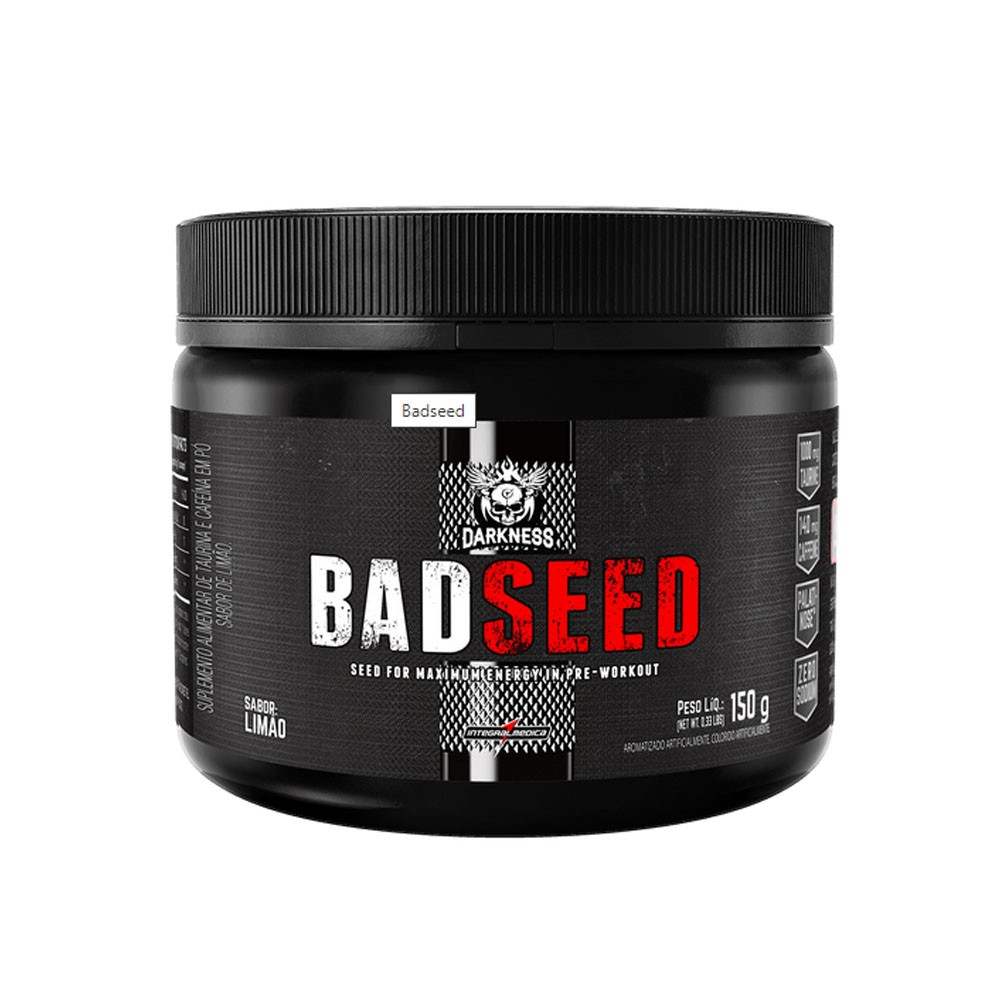 Badseed 150g Limão  - Dakness  - KFit Nutrition