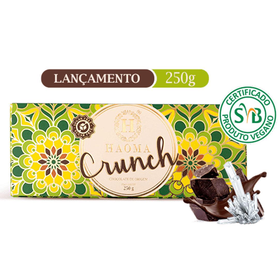 Barra Crunch Vegano 250g - Haoma  - KFit Nutrition