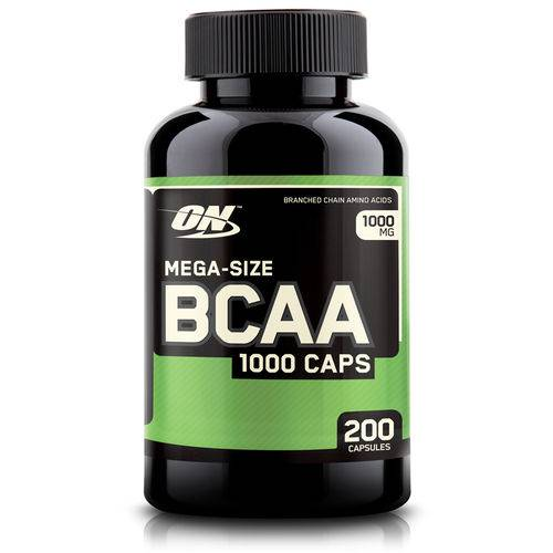 BCAA 1000 Optimun - 200 Caps  - KFit Nutrition