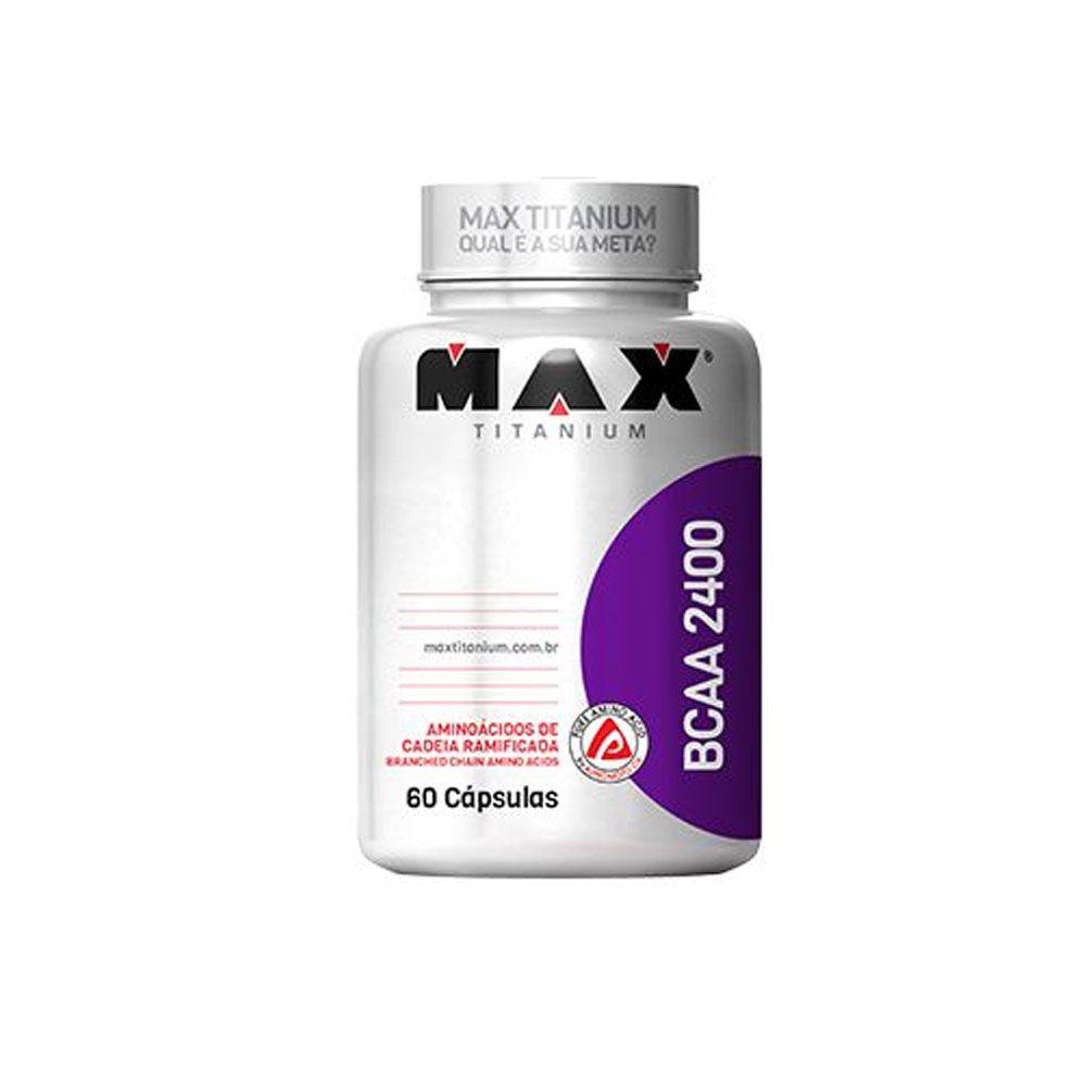 BCAA 2400 60 Caps - Max Titanium  - KFit Nutrition
