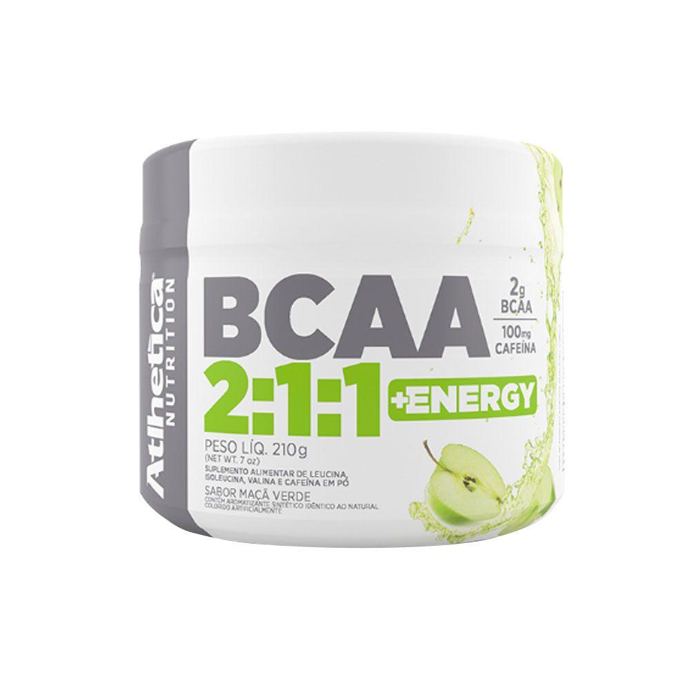 Bcaa 2:1:1 210g Maçã verde Atlhetica Nutrition  - KFit Nutrition