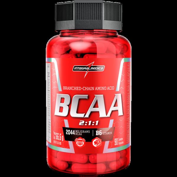BCAA 2:1:1 90 Caps Integral Medica  - KFit Nutrition