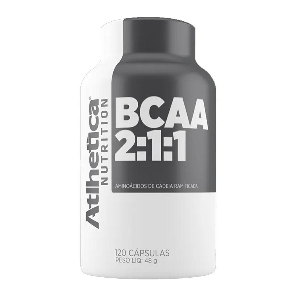 Bcaa 2:1:1 Atlhetica Nutrition 120 Caps  - KFit Nutrition