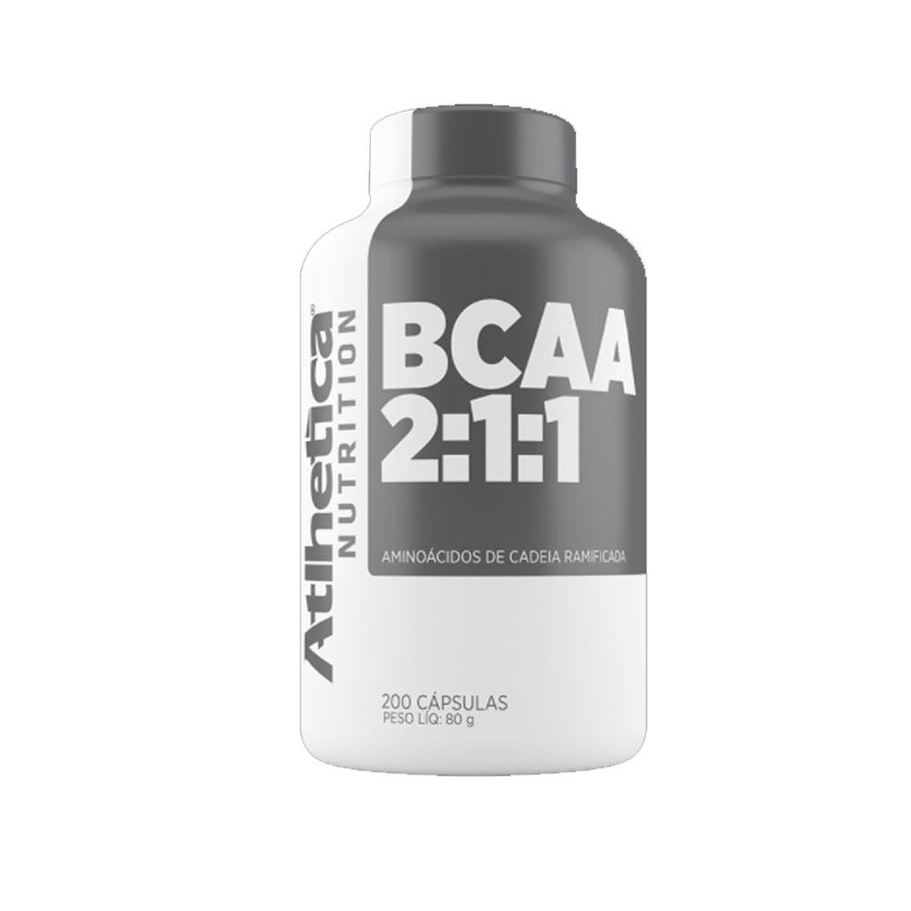 BCAA 2:1:1 Atlhetica Nutrition 200 CAPS  - KFit Nutrition