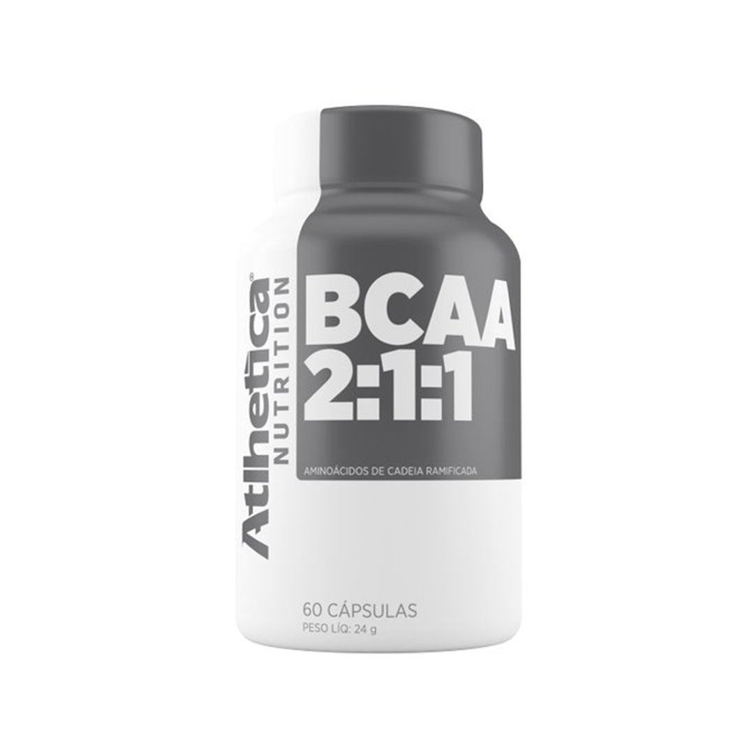 Bcaa 2:1:1 Atlhetica Nutrition 60 Caps  - KFit Nutrition