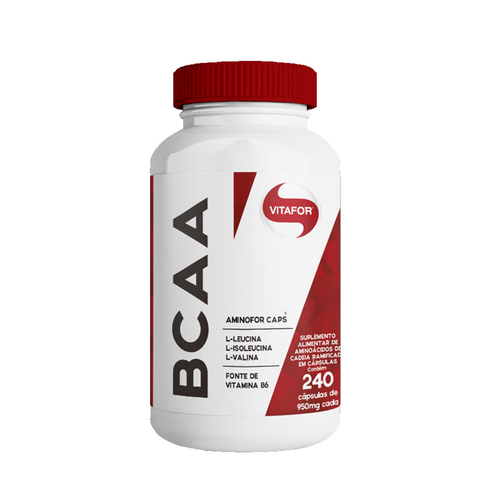BCAA Aminofor 240 Caps - Vitafor  - KFit Nutrition