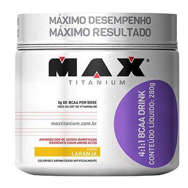 BCAA Drink 280G 4:1:1 - Max Titanium  - KFit Nutrition