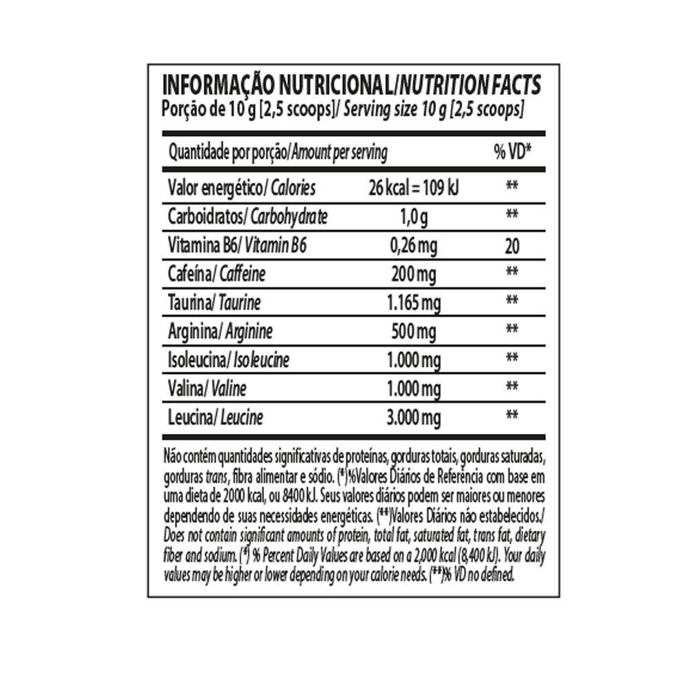 BCAA ENERGY Morango com Limão 240G - Integral Medica  - KFit Nutrition