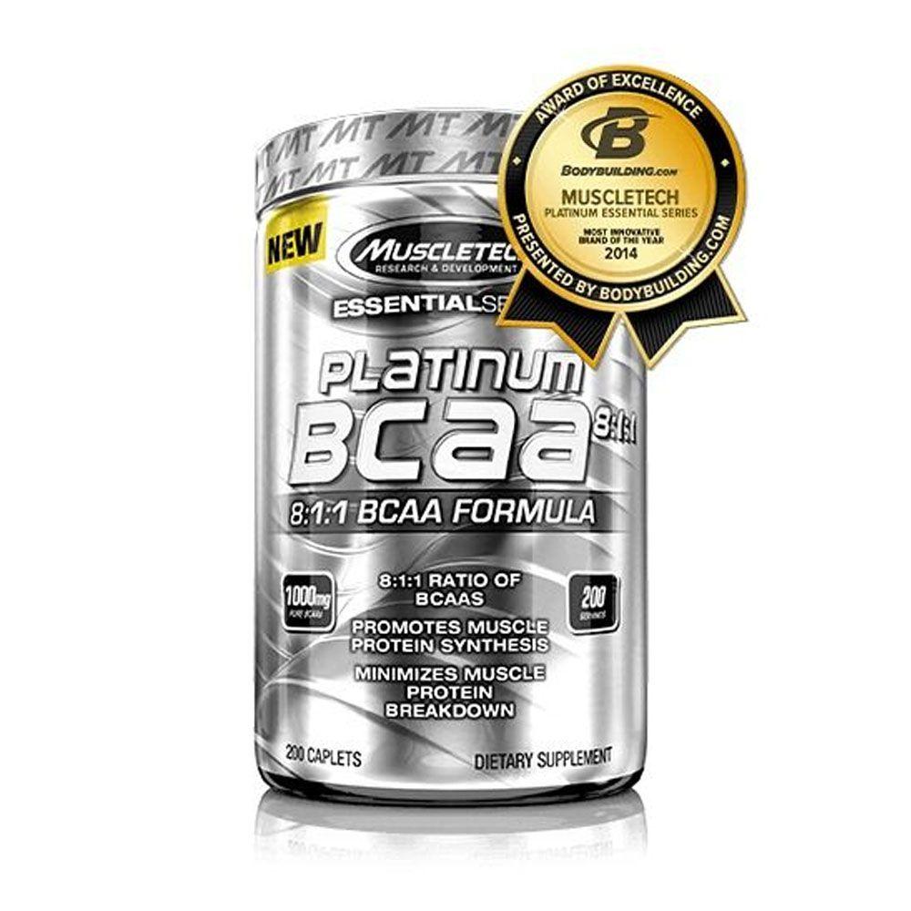 BCAA Platinum 8:1:1 200 Tabs  - KFit Nutrition