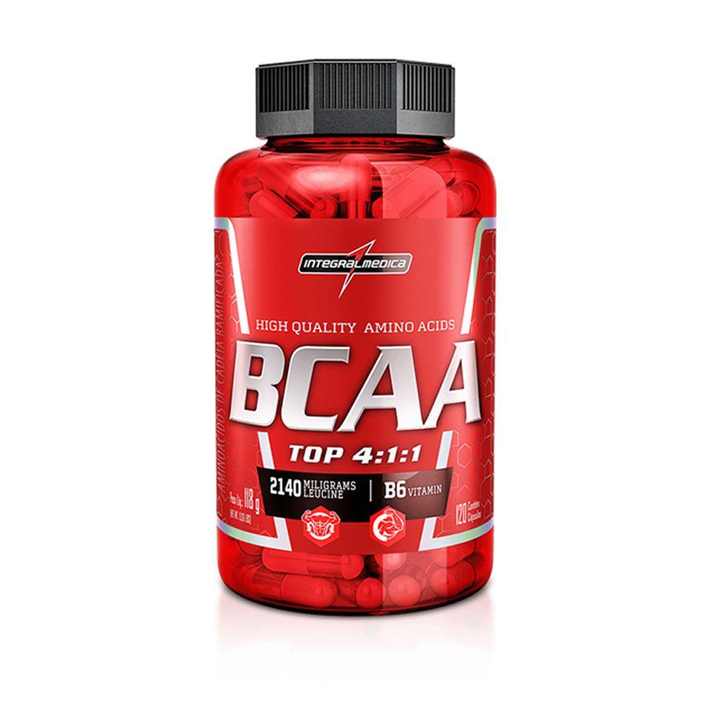 BCAA Top 120 Capsulas Integral Medica  - KFit Nutrition