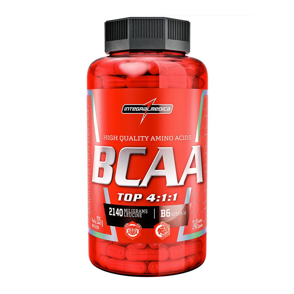 BCAA Top 240 Caps  Integral Medica  - KFit Nutrition