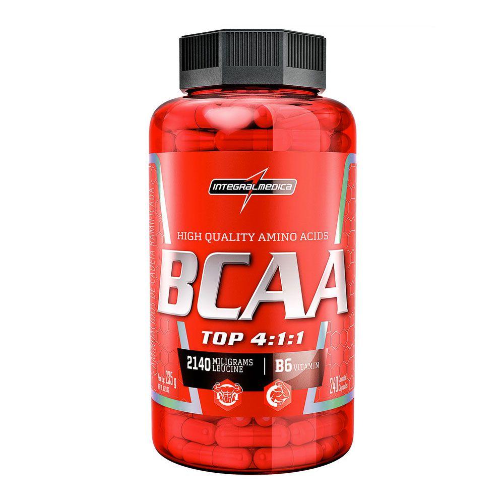 BCAA Top 240 Caps  Integral Medica  - KFit Nutrition