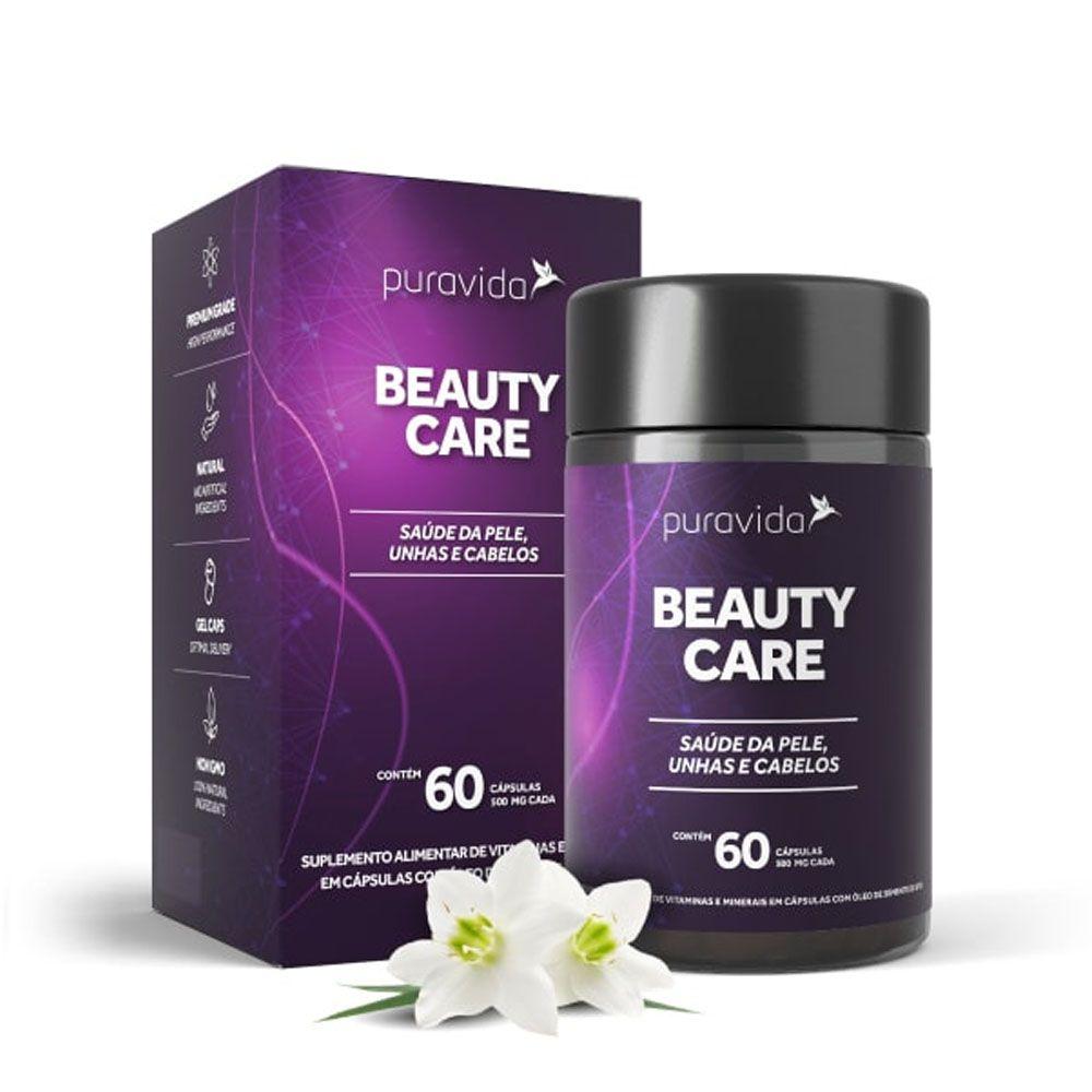 Beauty Care 60 Cáps Puravida  - KFit Nutrition