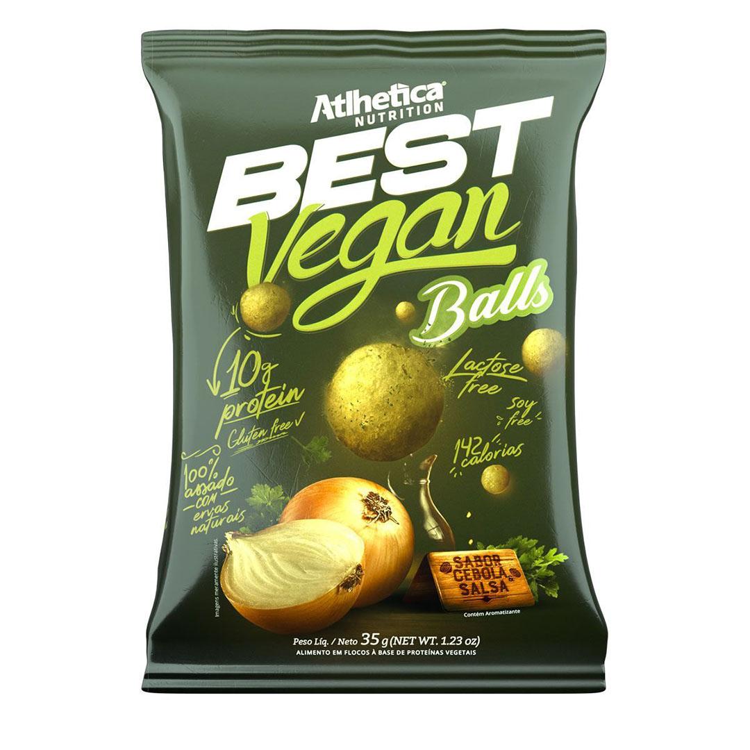 Best Vegan Balls 35g Cebola e Salsa - Atlhetica  - KFit Nutrition