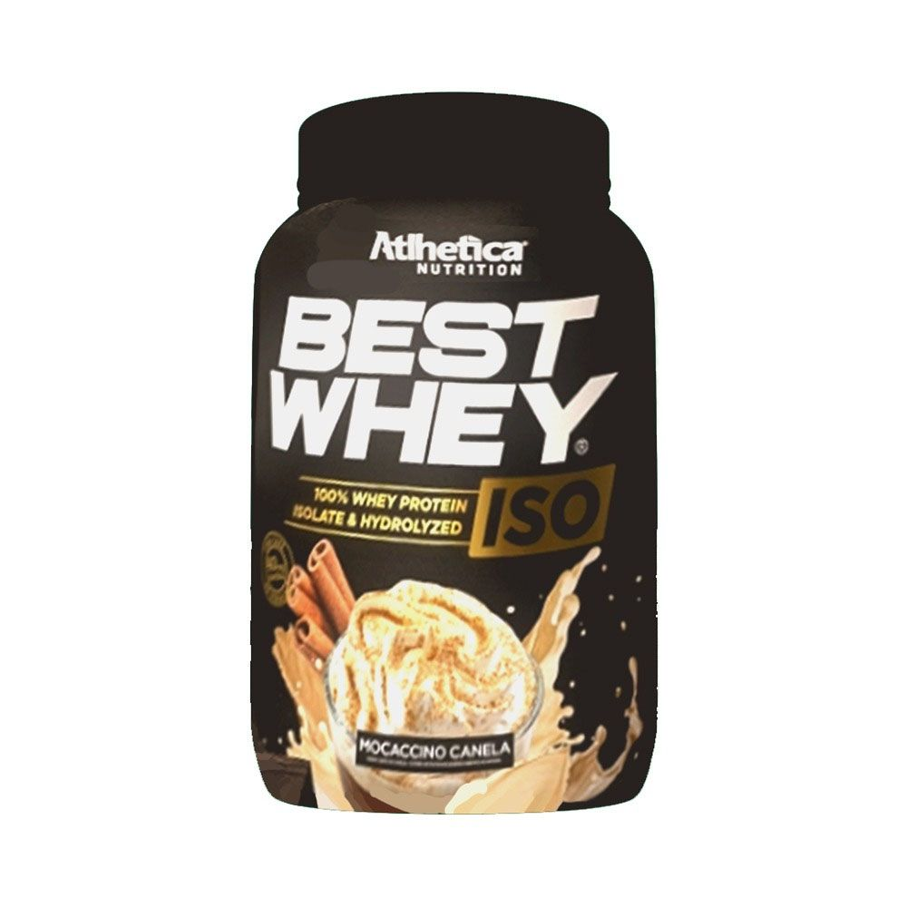 BEST WHEY ISO 900g MOCACCINO CANELA - Atlhetica  - KFit Nutrition